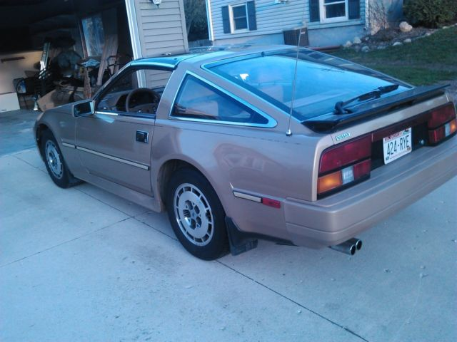 1986 nissan 300zx 5 speed n a low miles classic nissan 300zx 1986 for sale. Black Bedroom Furniture Sets. Home Design Ideas