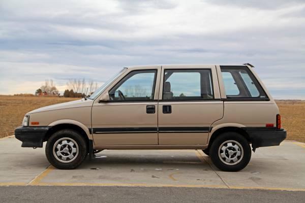 1986 Nissan Stanza (Datsun Prairie) 4x4 Wagon, 5-Speed ...