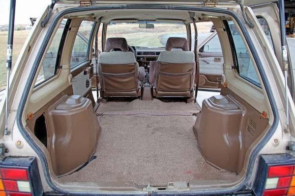 1986 Nissan Stanza Datsun Prairie 4x4 Wagon 5 Speed