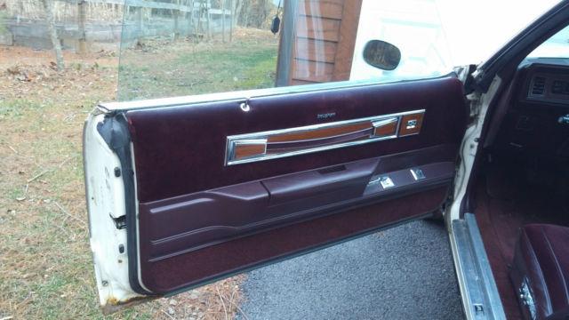 1986 Oldsmobile Cutlass Supreme Brougham 4 Door Classic