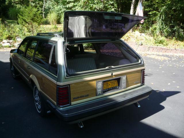 1986 Pontiac 6000 Se Wagon 4 Door 2 8l Classic Pontiac