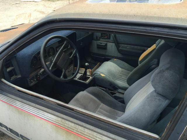 1986 Pontiac Sunbird Gt Turbo Classic Pontiac Sunbird