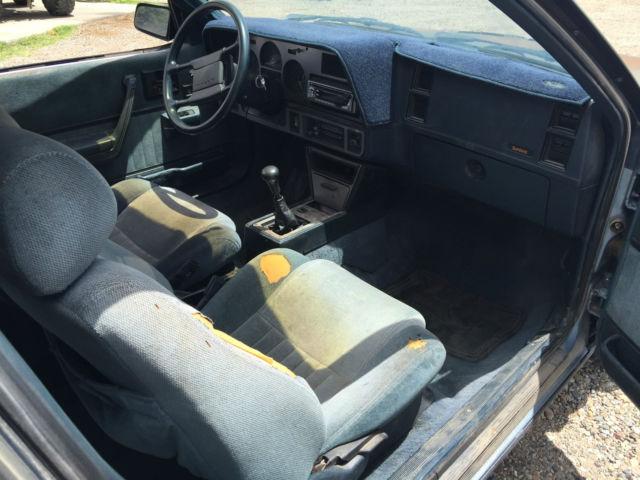 Pontiac Sunbird Gt Turbo