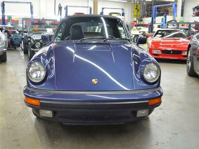 1986 Porsche 911 43199 Miles Prussian Blue Flat 6 Cylinder ...
