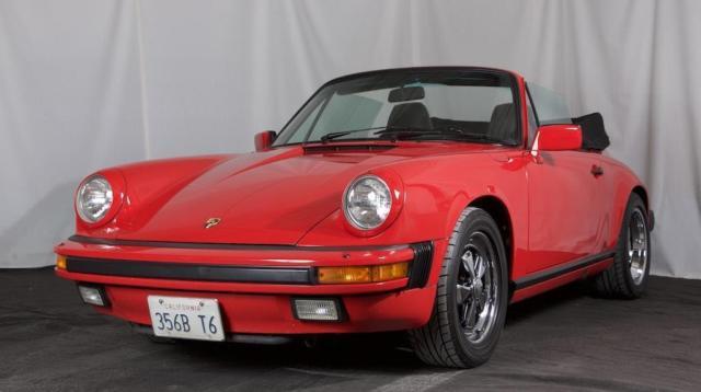 1986 Porsche 911 Carrera 3 2 Cabrio 46k Miles California