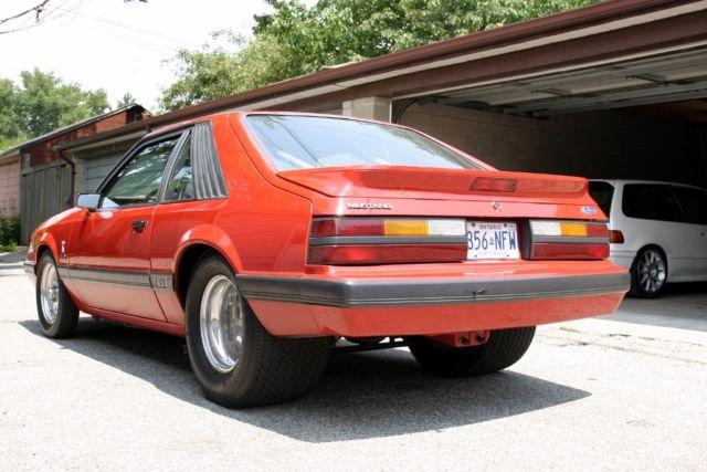 1986 Professionally Built Prostreet Mustang Gt High