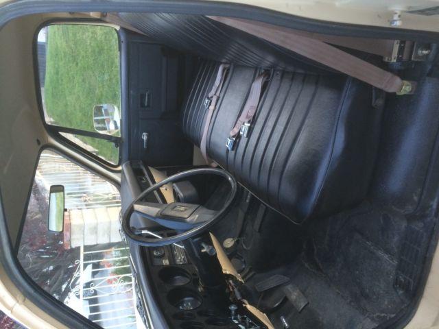 1986 Tan Chevy Military Truck 4x4    M1008    Cucv    K30