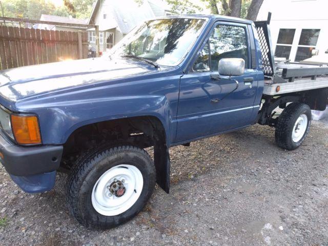 1986 toyota 4x4 pickup 22re 5 speed manual