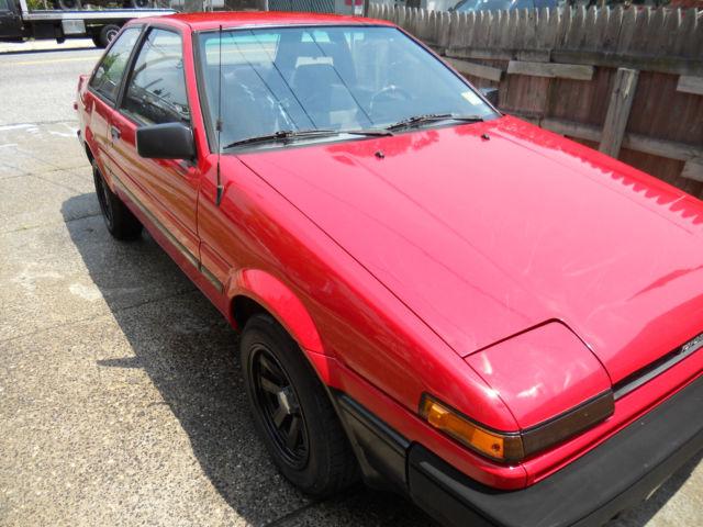 1986 Toyota Corolla SR5 (AE86) - Classic Toyota Corolla 1986