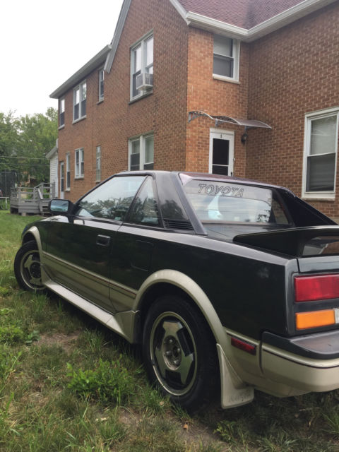 1986 toyota mr2 81k original miles classic toyota mr2 1986 for sale. Black Bedroom Furniture Sets. Home Design Ideas