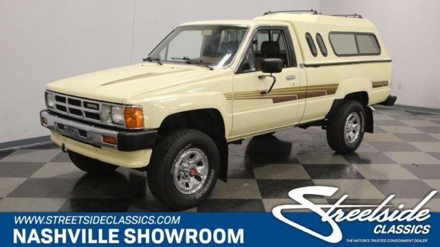 1986 Toyota Pickup Sr5 4x4 Pickup Truck 2 4 L 5 Speed Manual Classic Vintage Col Classic Toyota Pickup 1986 For Sale