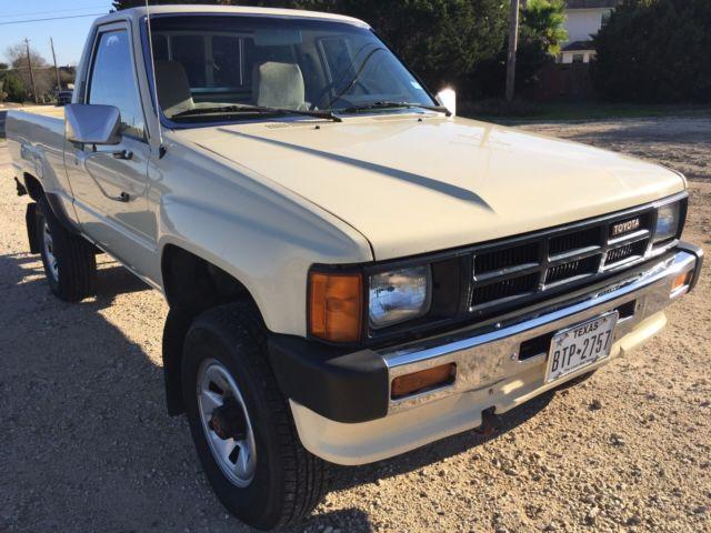1986 Toyota Pickup, Tan, 22R, 4x4, 4wd - Classic Toyota ...