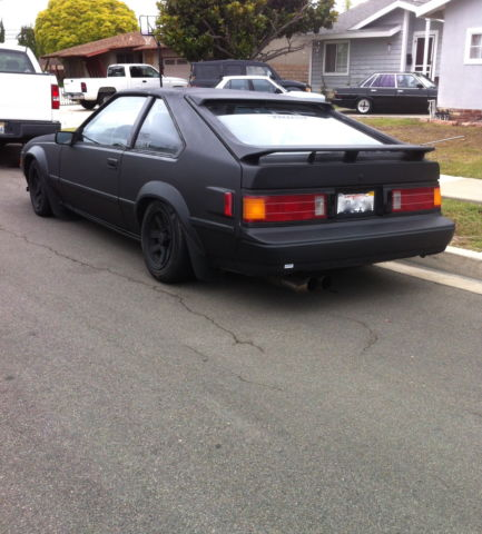 1986 toyota supra 2 door rwd sports car lowered stance rat drift rod 86 39 mk2 classic toyota. Black Bedroom Furniture Sets. Home Design Ideas