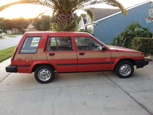 1986 Toyota Tercel 4wd Station Wagon All Original Low
