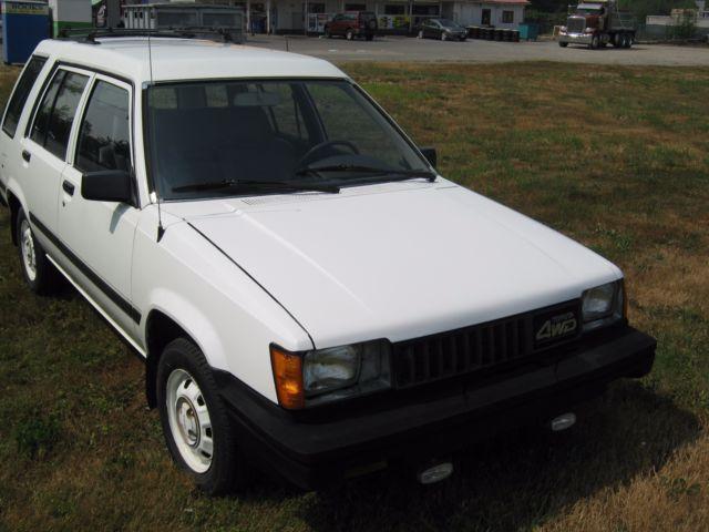 Toyota Tercel Wd Wagon K Original on 1987 Toyota Tercel 4wd