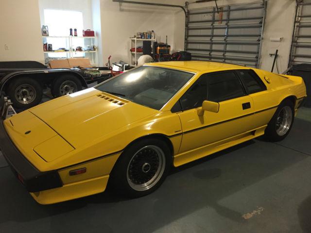 Used Lotus Esprit For Sale >> 1986 Yellow Lotus Turbo Esprit S3 - not running - Classic Lotus Esprit 1986 for sale