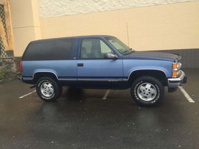 1987 1988 1989 1996 1997 1998 1999 2-DOOR TAHOE GMC YUKON K-5 BLAZER - Classic Chevrolet Blazer ...