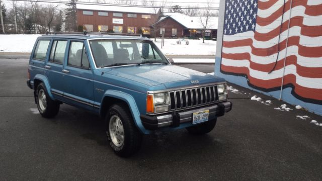 1987 Amc Jeep Cherokee Laredo Xj 4 0 Auto Made Amp Assembled