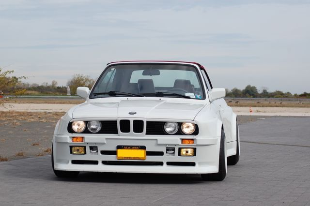 Bmw I Convertible Custom Folger Wide Body E Widebody on Radio For Bmw 325i
