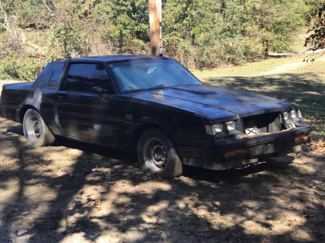 1987 buick grand national cheap for parts or fixer upper classic buick grand national 1987. Black Bedroom Furniture Sets. Home Design Ideas
