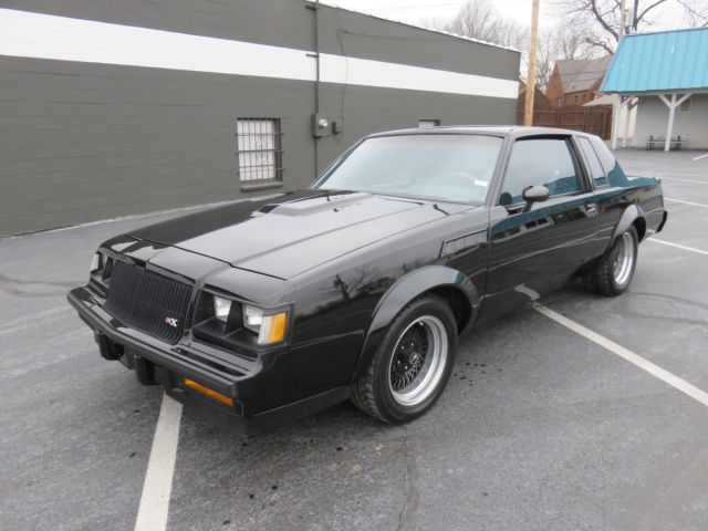 1987 buick grand national gnx 548 replica with built drivetrain must see classic buick regal. Black Bedroom Furniture Sets. Home Design Ideas