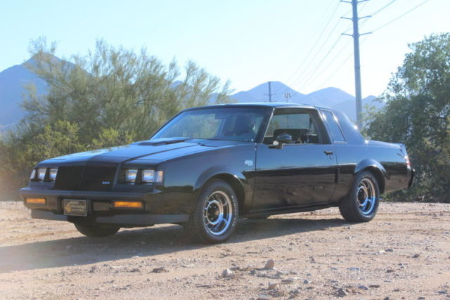 1987 Buick Grand National T Top Classic Buick Grand National 1987