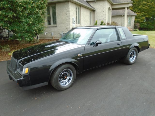 1987 buick grand national t tops classic buick grand national 1987 for sale. Black Bedroom Furniture Sets. Home Design Ideas