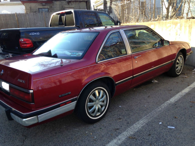 Buick Lesabre Limited Coupe Red Door Rare Survivor Antique Car on 1987 Buick Lesabre Limited
