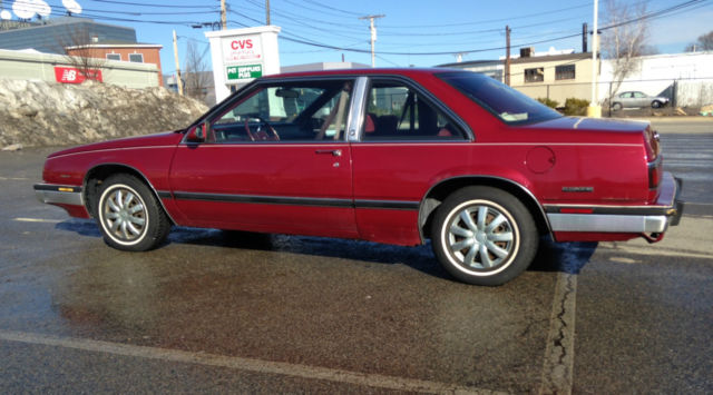 1987 Buick Lesabre Limited Coupe Red 2 Door Rare Survivor