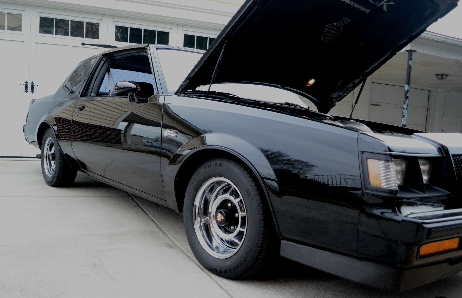 1987 buick regal grand national 79k mi t tops stock no rust very nice original classic buick. Black Bedroom Furniture Sets. Home Design Ideas