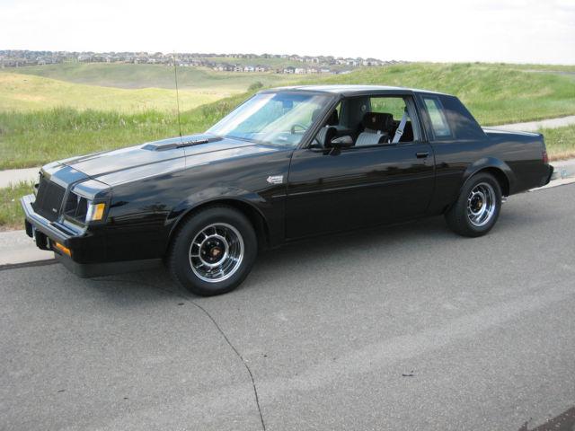 1987 Buick Regal Grand National T Top Car 21 200 Original Miles