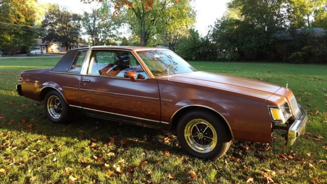 1987 Buick Regal For Sale >> 1987 Buick Regal Limited T-Type 87 G Body - Classic Buick ...