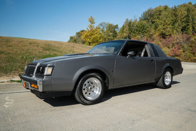 1987 Buick Regal T Type Nicely Modified 1 Of 1 547