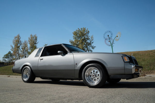 1987 buick regal t type nicely modified 1 of 1 547 produced classic buick regal 1987 for sale. Black Bedroom Furniture Sets. Home Design Ideas