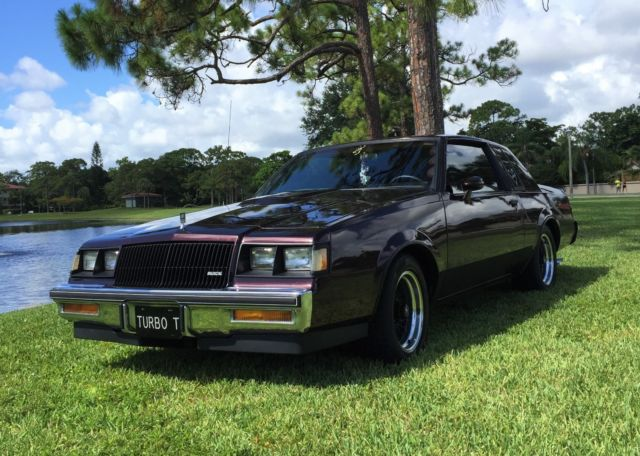1987 Buick Regal For Sale >> 1987 Buick Regal Turbo T T-Type - Classic Buick Regal 1987 for sale