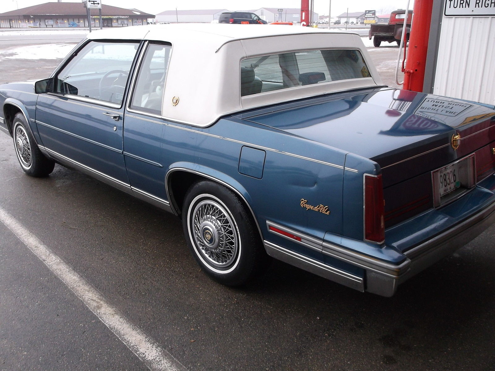 Cadillac Deville Door Coupe Nice Condition Great Driver on Cadillac 4100 Power Steering