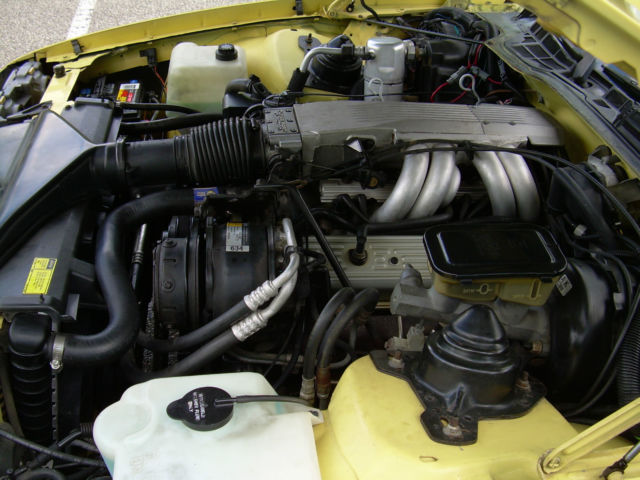 1987 CAMARO IROC Z 350 YELLOW 88,89,90,91,92 - Classic ...