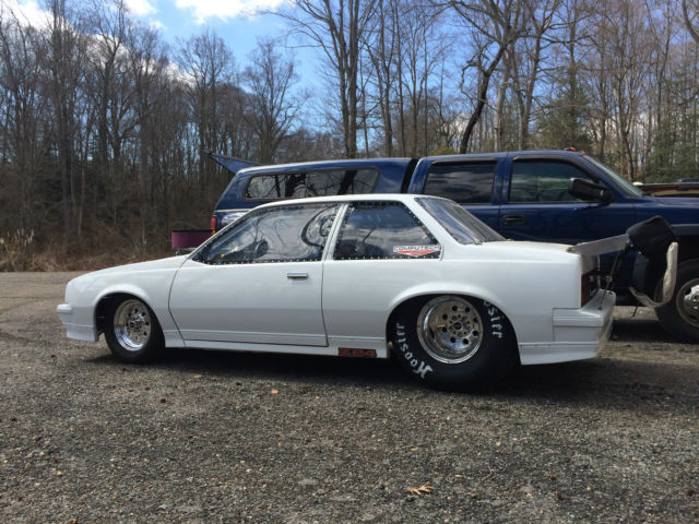 1987 Cavalier Drag Car Rolling Chassis No Motor Classic