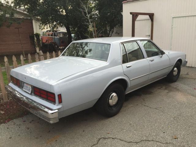 1987 Chevrolet Caprice 9C1 police - Classic Chevrolet ...