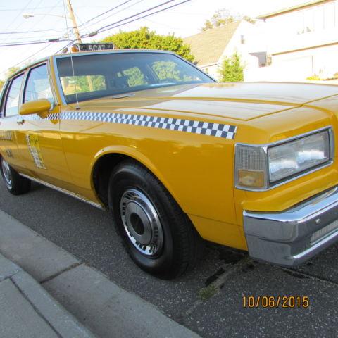1987 Chevrolet Caprice Restored Restored To Replicate Nyc