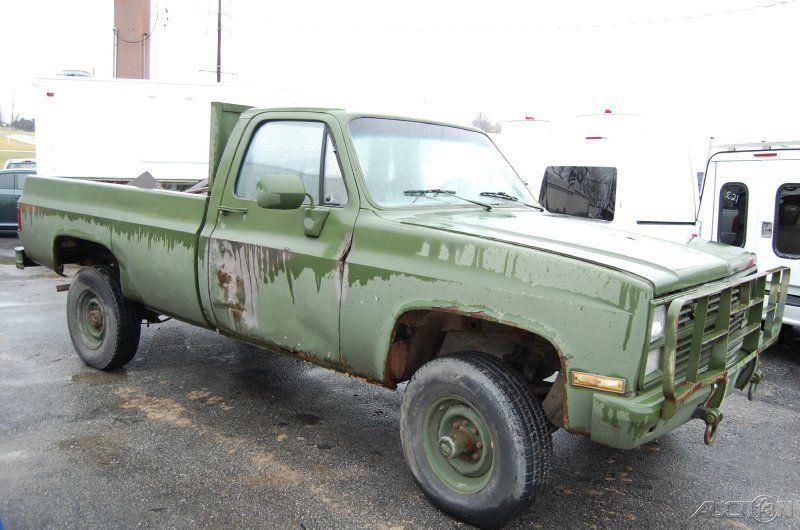 1987 Chevrolet Chevy K30 K3500 4x4 Military Army Truck ...