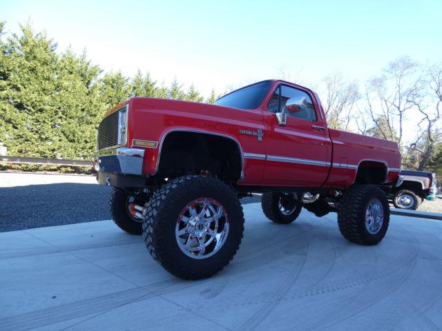 1987 Chevrolet C/K 10 Silverado Lifted Pickup Truck 4x4 ...