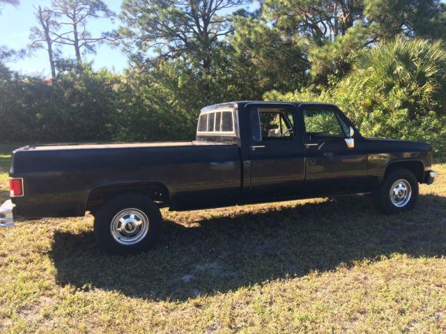 1987 chevrolet crew cab truck 2500 2wd 4 door classic chevrolet c k pickup 2500 1987 for sale. Black Bedroom Furniture Sets. Home Design Ideas