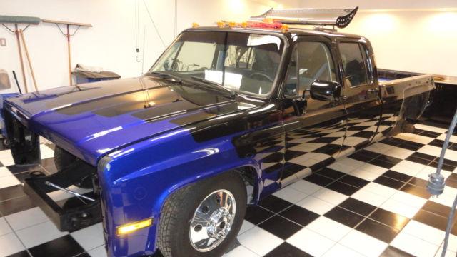 1987 chevrolet dually crew cab custom classic chevrolet c k pickup 3500 1987 for sale. Black Bedroom Furniture Sets. Home Design Ideas