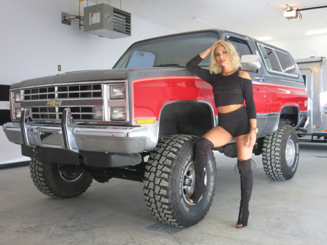 1987 CHEVROLET K5 SILVERADO BLAZER LIFTED SQUARE BODY ...