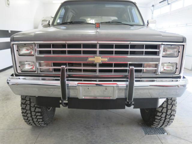 Lifted Chevy Silverado For Sale >> 1987 CHEVROLET K5 SILVERADO BLAZER LIFTED SQUARE BODY ...