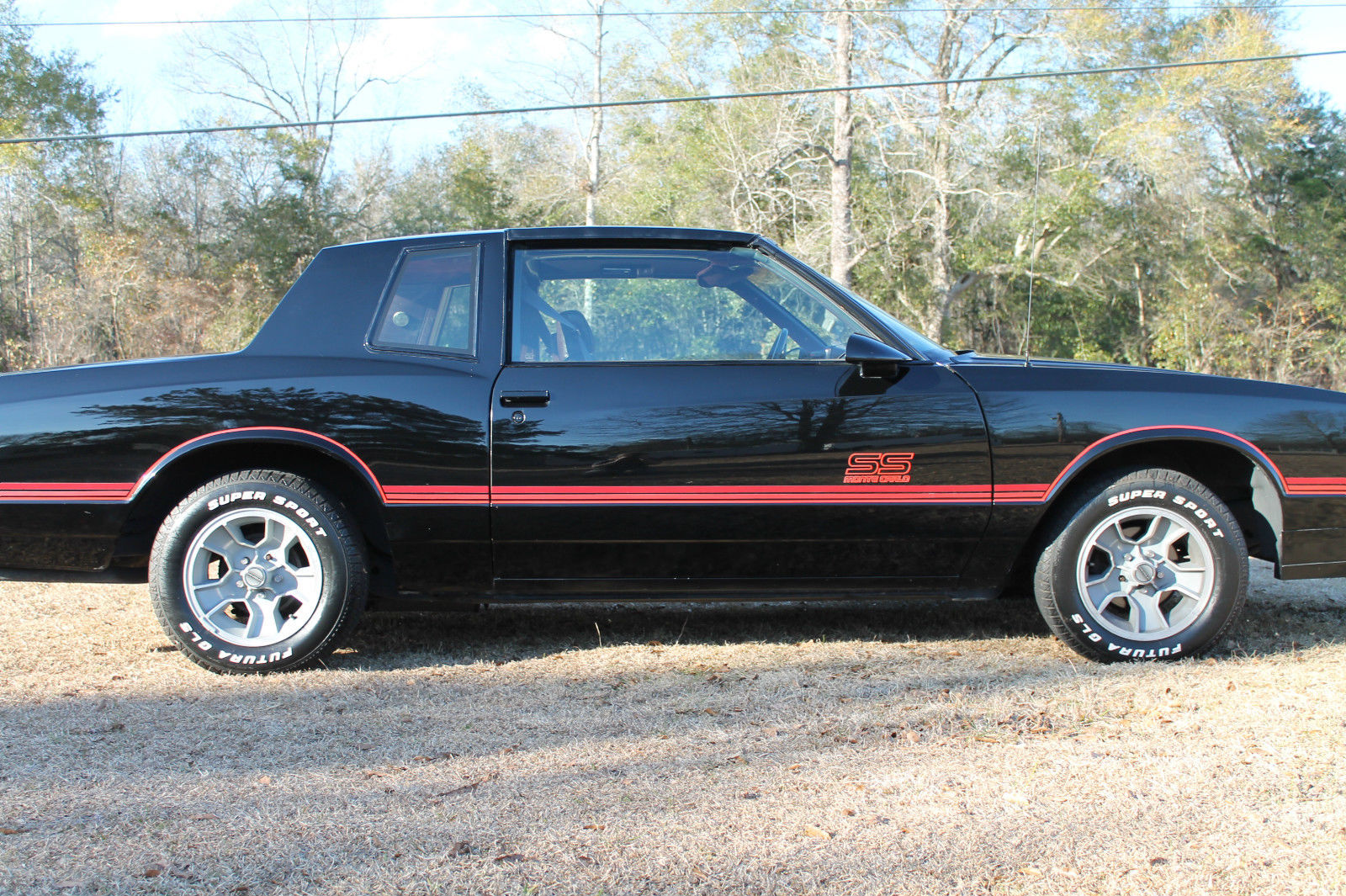 1987 Chevrolet Monte Carlo Ss T Tops Classic Chevrolet