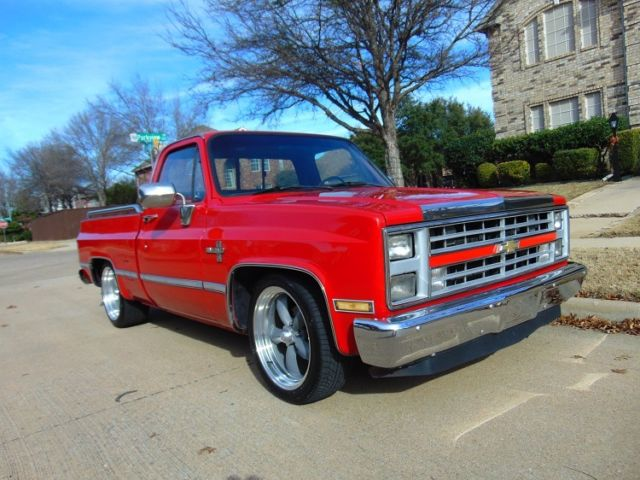 Chevrolet Pickup Ton Chevy Truck Square Body Lowered C - Square body chevy for sale