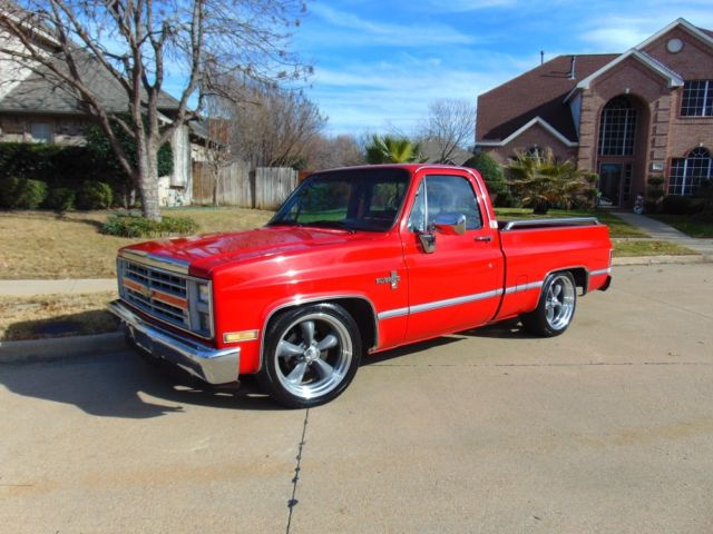 1987 chevrolet pickup 1 2 ton chevy truck square body lowered c 10 silverado classic chevrolet. Black Bedroom Furniture Sets. Home Design Ideas