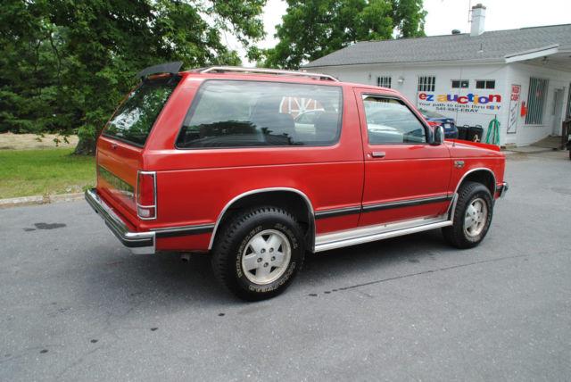 1987 Chevrolet S10 Blazer High Country Sport Utility 2-Door 2.8L - Classic Chevrolet Blazer 1987 ...